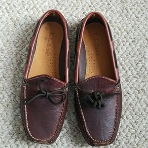 612d652f2e40b LL Bean Shoes | Double Sole Slippers Leather Lined 11 Men | Poshmark